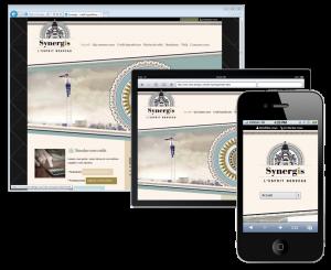 création de site web et mobile en responsive design