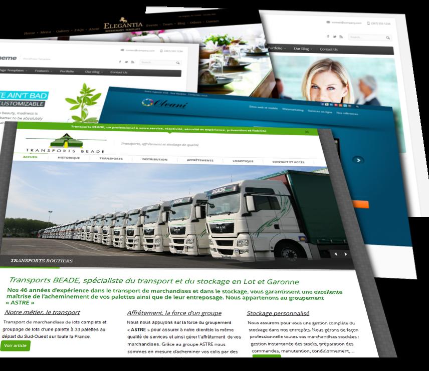 Wordpress et Prestashop : création de site vitrine, blog, ecommerce