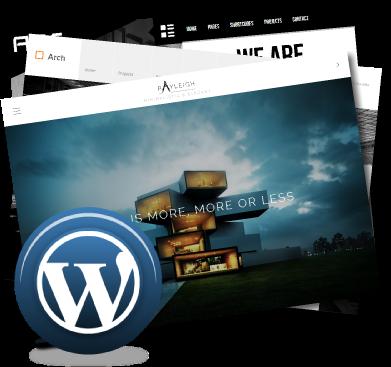 1 pack premium wordpress type architecte constructeur for Architecte constructeur